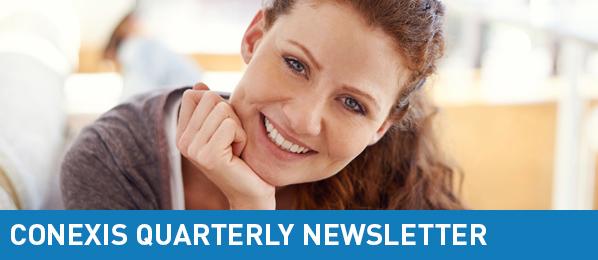2015 CONEXIS Quarterly Newsletter Header