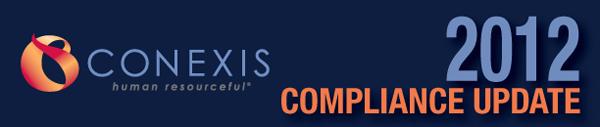 CONEXIS Compliance Update Banner